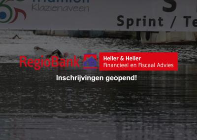 Inschrijving Alternatieve Triathlon Klazienaveen geopend!